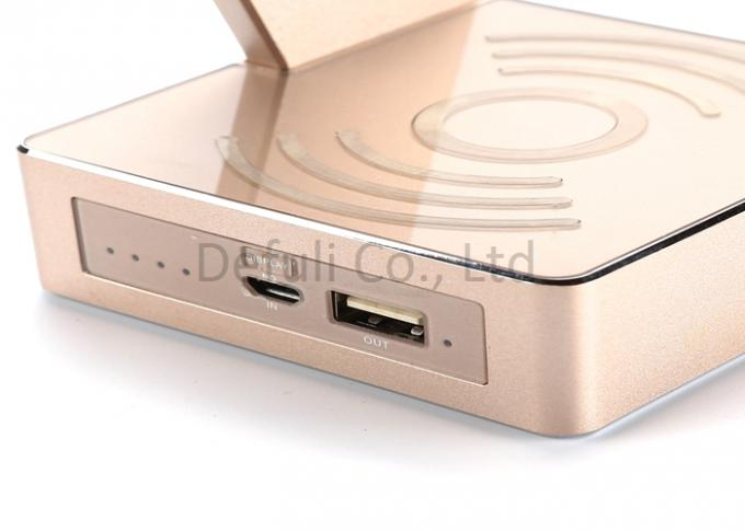Portable Iphone Wireless Charging Pad , Wireless Mobile Charger Emergency Use