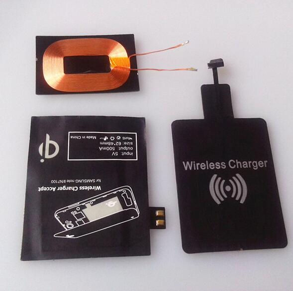 Universal Type - C Qi Induction Coil Wireless Charging For Smart Phone