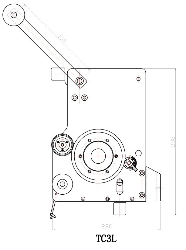 professioanl big mechanical tensioner for motor coil