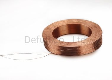 China Air Core Inductive Charging Coil 9.8mm OD With Copper / Silk Covered Wire Materials supplier