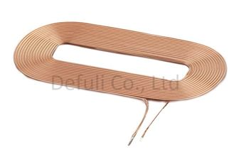 China Air Core / Coreless / Bobbinless Inductive Charging Coil 19.8mm OD For Smart Phone supplier