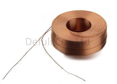 China Copper Winding Wireless Power Coil / High Current Qi Charging Coil supplier