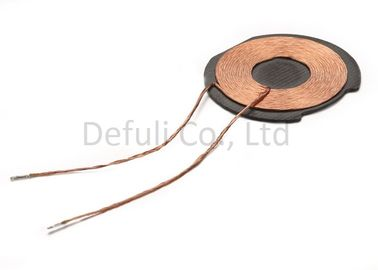 China Custom Round Flat Inductive Charging Coil Copper Wire With 44.75mm Thickness supplier