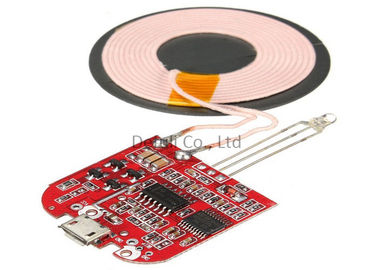 China Type C Qi Standard Wireless Charging Transmitter Module For IPhone / Samsung supplier
