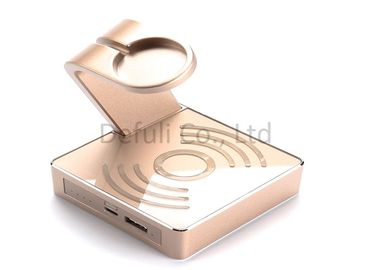 China Portable Iphone Wireless Charging Pad , Wireless Mobile Charger Emergency Use supplier