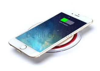 China High Efficiency Universal Wireless Charging Pad For Cell Phone With Micro USB supplier