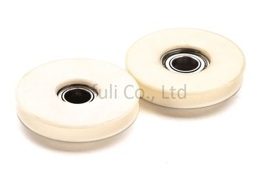 China Corrosion Resistance Wire Guide Pulley Ra0.15 Degree With High Speed Bearing supplier