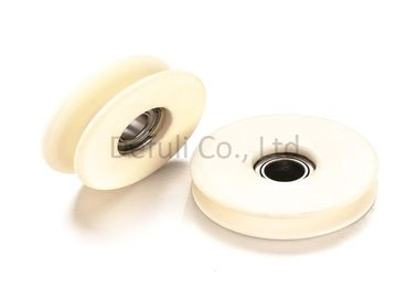China Magnetic Tension Ceramic Wire Guide Pulley For Coil Wire Guide Machine supplier