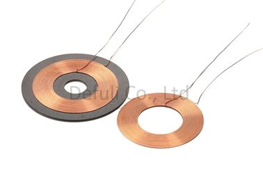 China One Layer 6.5UH Wireless Charging Coil For Cell Phones , 2-8mm Induction Distance supplier