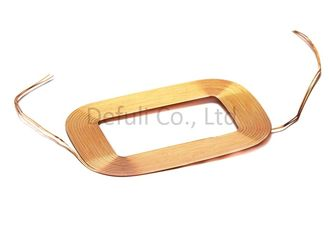 China Customized Magnetic Wireless Charging Coil Single Layer With QI Standard supplier
