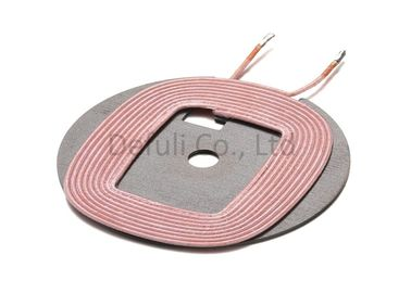 China Wireless Power Charger Electric Induction Coil 5 Watt With 100-150KHz Frequency supplier