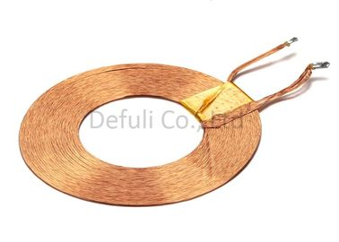 China Copper Litz Wire Wireless Charging Transmitter Coil 100Khz / 1V For Wearable Device supplier