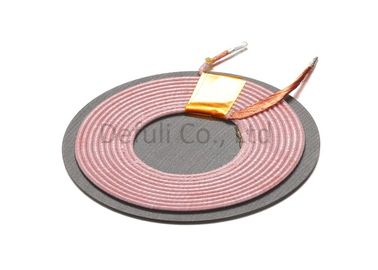 China Mobile Phone Induction Coil Wireless Charging Round Shape Self Bonding Wire supplier