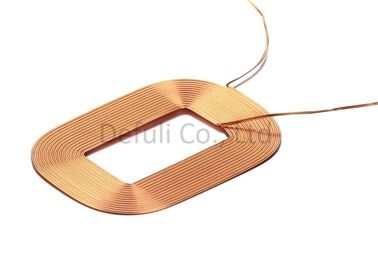 China E- Shaped Wireless Charging Receiver Coil 10 Turns For Mobile Phone supplier
