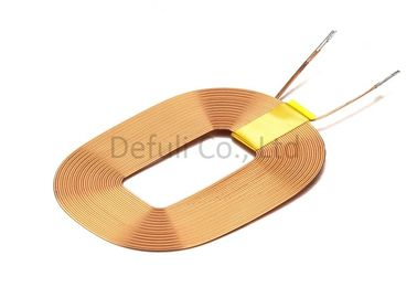 China Strong Signal Receive Wireless Charging Receiver Coil Single Layer With 0.3*2P Wire Dia supplier