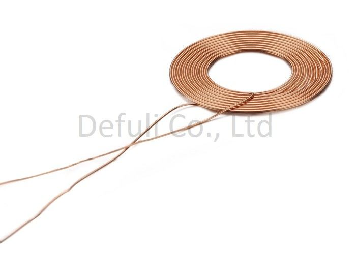 Copper Wire Inductive Charging Coil , Micro Solenoid Coil 3.2*13.7mm ID