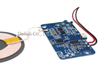 China Magnetic Qi Wireless Charging Module / Phone Charger Module 500mA-1000mA Current factory