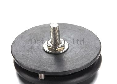 HRA88 Hardness Wire Tensioner Pulley , Cable Pulley Wheels With High Speed Bearing