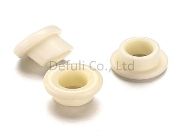 High Purity Alumina Ceramic Eyelet Guide 5.7gpa Ardness With High Heat Resistance
