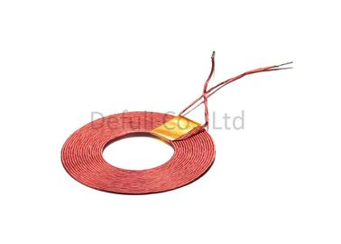 Low Frequency Red Wireless Charging Transmitter Coil With Self - Bondable Wires